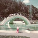 Rainbow Bridge to Fairyland in Lowry Park Tampa Florida FL Postcard - 5220
