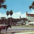 Old Town Street Scene in St. Augustine Florida FL Chrome Postcard - 5222