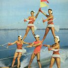 Water Skiing Pyramid at Cypress Gardens in Florida FL Chrome Postcard - 5233