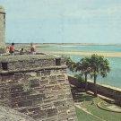 Castillo De San Marcos National Monument St. Augustine Florida FL Postcard - 5241