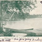 Kimballs Point Lake Massabesic in Manchester New Hampshire NH Postcard - 3940