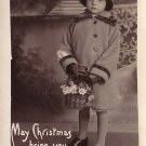 Real Photo Image of Small Girl with Cloche Hat - 3942