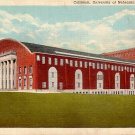 Coliseum at University of Nebraska in Lincoln NE, Linen Postcard - 3963