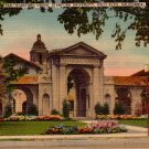 Stanford Union in Palo Alto California CA, Linen Postcard - 3969