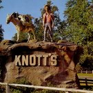 Pioneering Prospector Statue at Knott's Berry Farm Buena Park California CA Postcard - 3980