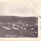 Hilltop View of Albany Village in Vermont VT, 1905 Vintage Postcard - 3993