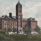 High School in St. Joseph Missouri MO 1909 Vintage Postcard - 5279