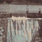 Hemet Dam in California CA, Vintage Hand Colored Postcard - 5285