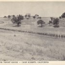 Parading to the Target Range, Camp Roberts California CA 1942 Vintage Postcard - 5290