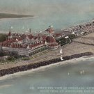View of Coronado Hotel and Tent City at San Diego California CA, 1914 Vintage Postcard - 5291