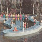 Southern Belles at Esther Williams Swimming Pool, Cypress Gardens Florida FL Chrome Postcard - 5295