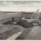 Ruins of Old Martello Tower in Key West Florida FL, Vintage Postcard - 5298