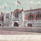 Coliseum in Chicago Illinois IL, 1908 Vintage Curt Teich Postcard - 5305