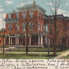 Mercy Hospital in Iowa City IA 1907 Curt Teich Vintage Postcard - 5307