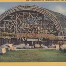 Construction of Tabernacle in Salt Lake City Utah UT, 1940 Linen Postcard - 5317