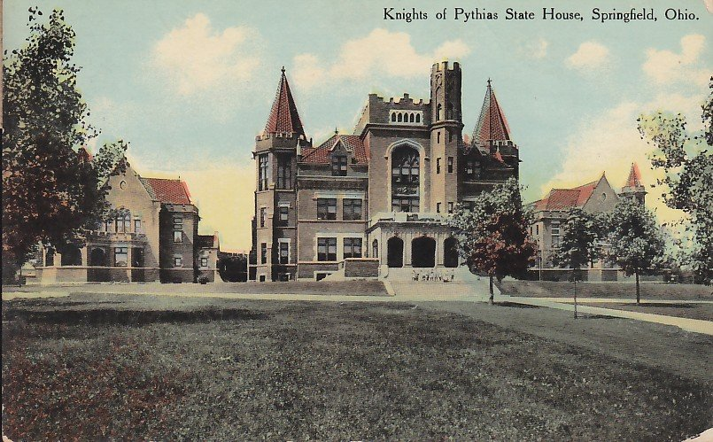 Knights Of Pythias State House In Springfield Ohio Oh