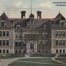 Pittsfield High School in Massachusetts MA, 1913 Vintage Postcard - 5336