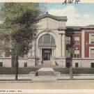 High School in New Albany Indiana IN, 1918 Vintage Postcard - 5343