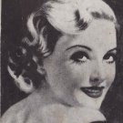 Madeleine Carroll Actress, Vintage Mutoscope Postcard - 5354