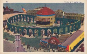 A & P Carnival at the 1933 Chicago World's Fair, Linen Postcard - 5374