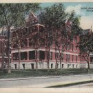 Saint Joseph Hospital in Sioux City Iowa IA, 1920 Vintage Postcard - 5380