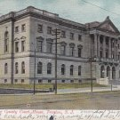 Mercer County Court House in Trenton New Jersey, NJ 1907 Vintage Postcard - 5396