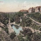 Boscombe Chine Bournemouth UK 1908 Vintage Postcard - 4120