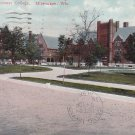 Milwaukee Downer College Wisconsin WI, 1912 Vintage Postcard - 5409