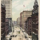 Griswold Street in Detroit Michigan MI, 1907 Vintage Postcard - 5410