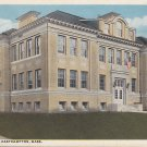 High School in Easthampton Massachusetts MA, Vintage Postcard - 5413