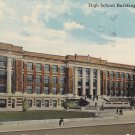 High School in Norfolk Virginia VA, 1911 Vintage Postcard