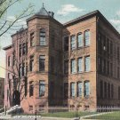 Webster School New Haven Connecticut CT, 1908 Vintage Postcard - 5416