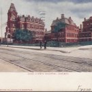 Cook County Hospital Chicago Illinois IL, 1907 Vintage Postcard - 5418