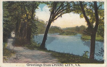 Greetings from Chase City Virginia VA - 5425