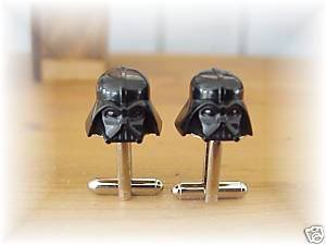 Darth Vader LEGO&Acirc;&reg;  Helmet cufflinks~star wars silver
