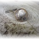 Phyl&#39;s coin jewelry~Mercury dime tie tac tack pin