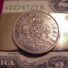 P'S COIN JEWELRY~BRITISH  TWO SHILLING  MONEY CLIP