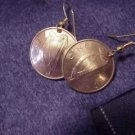 P&#39;s coin jewelry~Lucky Irish penny earrings~