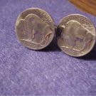 P's COIN JEWELRY~BUFFALO NICKEL CUFFLINKS OR ERS