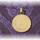 P'S COIN JEWELRY~IRISH HORSE PENDANT~FREE SHIP FREE BOX