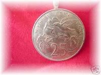 P'S COIN JEWELRY~BEAUTIFUL HUMMINGBIRD PENDANT