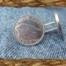 P'S COIN JEWELRY~FISH CUFFLINKS~BERMUDA