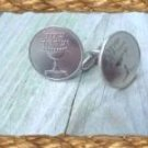 P'S COINS ~ISRAELI SILVER CHALICE CUFFLINKS~Gift Boxed