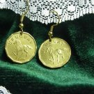 P'S COIN JEWELRY~GALLOPING  HORSE EARRINGS OR CUFFLINKS