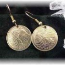 Coin Jewelry~Ethiopia roaring lion earrings or cuffs
