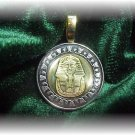 P&#39;S  COIN JEWELRY~KING TUT  PENDANT~UNCIRCULATED