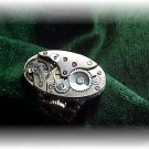 Steampunk silver  watch adjustable ring victorian oval 7 jewels  Boxed free