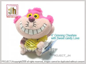 Grining Cheshire cat with Sweet candy Disney Sega Japan