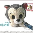 Sweet Fury Figaro kitten beanie stomach Disney Sega Japan