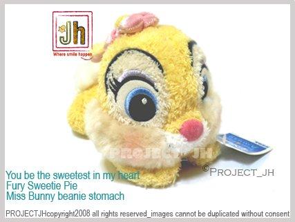 Sweet fury Miss Bunny beanie stomach Disney Sega Japan